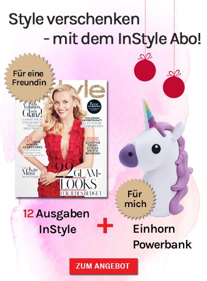 InStyle 12 Ausgaben + Einhorn Powerbank - StickyAd