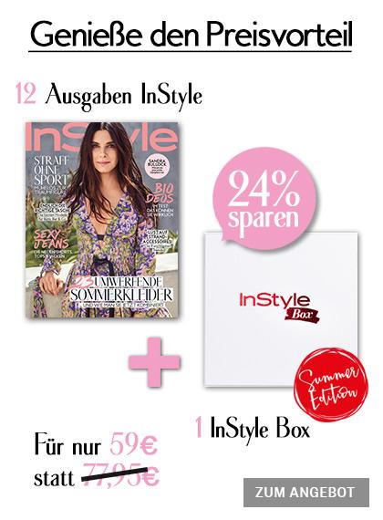 InStyle - 12 Ausgaben + InStyle Box Summer Edition