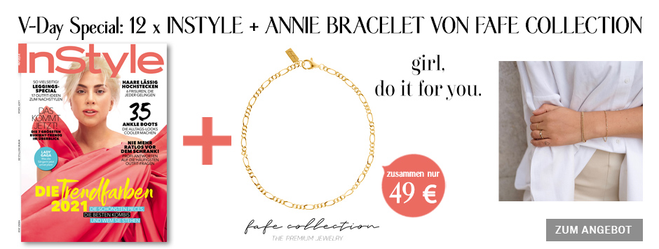 InStyle - Jahresabo + Annie Braclette fafe collections