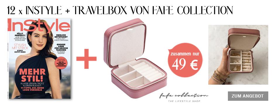 InStyle - Jahresabo + Travelbox von fafe collection