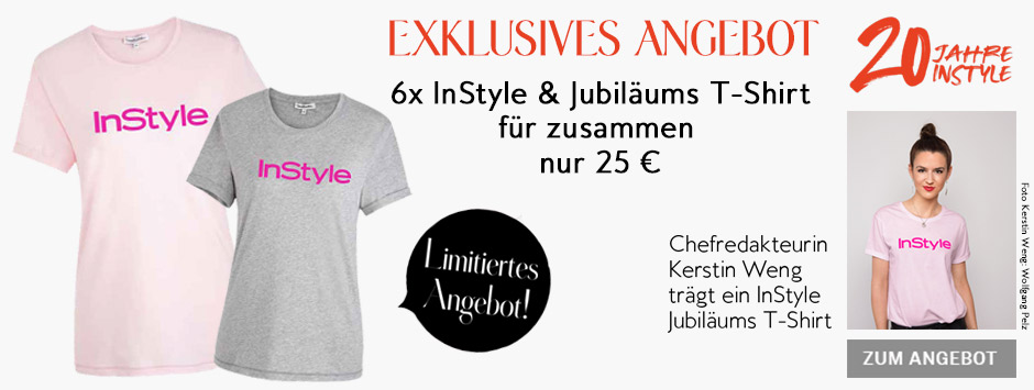 InStyle - Halbjahresabo Jubiläums T-Shirt 2019