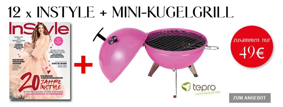 InStyle - 12 Ausgaben + Mini-Kugelgrill