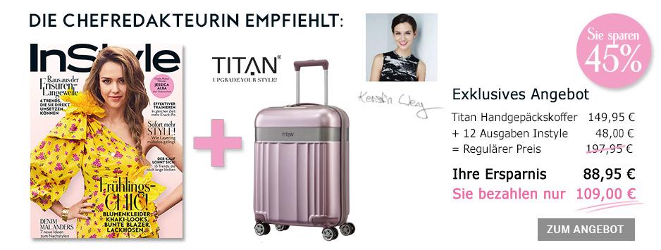 InStyle Sparpaket - Exklusiv 45% sparen - Titan Handgepäckkoffer
