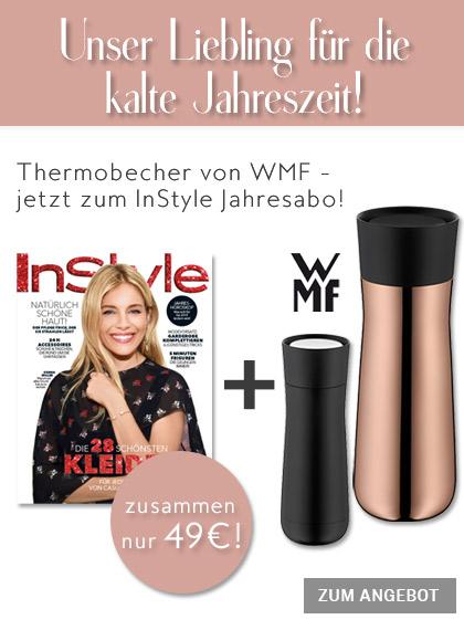 InStyle - StickyAd Jahresabo + WMF Thermobecher