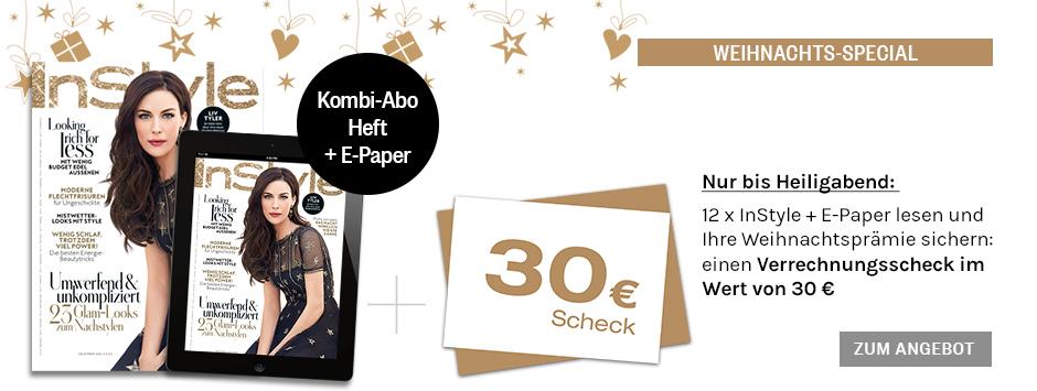 InStyle - Kombi-Abo Countdown - nur bis 24.12.2016