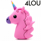 4LOU Unicorn Powerbank Rosa