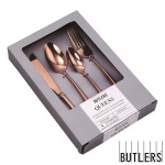 Butlers Besteck-Set Rosé-Gold