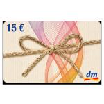 15 € dm-drogerie Gutschein
