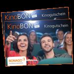 2 KinoBON Kinogutscheine