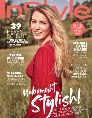 InStyle - aktuelle Ausgabe 11/2018