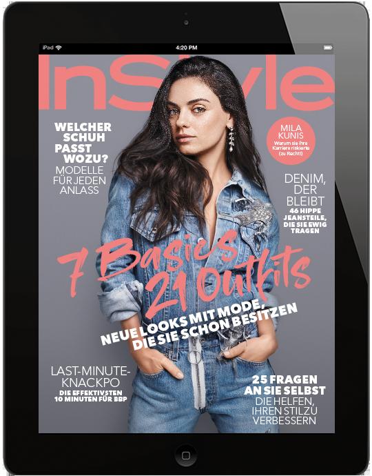 InStyle E-Paper - aktuelle Ausgabe 09/2018